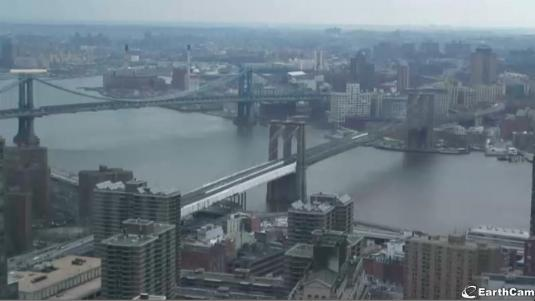 New York Brooklyn Bridge Live Streaming Traffic Weather Webcam New York City