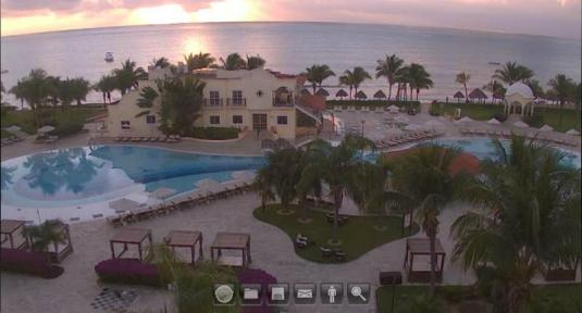 Quintana Roo Live Holiday Beach Weather Cam Playa del Carmen Mexico