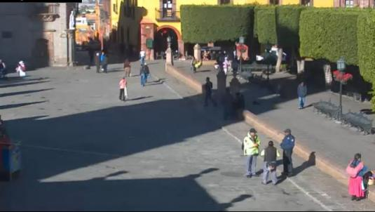 San Miguel de Allende City Square Streaming Weather Webcam Mexico
