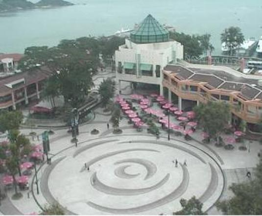 Discovery Bay Plaza Shopping Centre Webcam Hong Kong