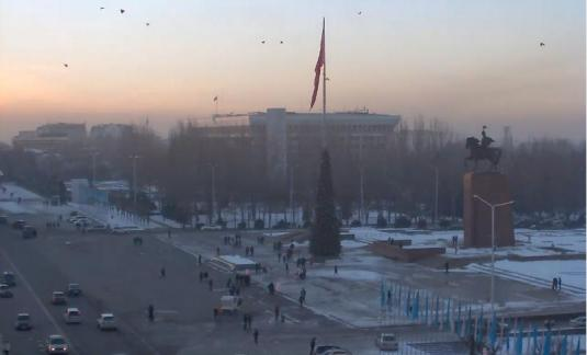 Bishkek City Square Live Streaming Weather Cam Kyrgyzstan