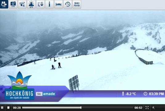 Mari Alm Live Streaming Skiing and Snowboarding, Ski Resort Weather Webcam, Austria