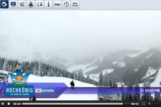 Bergstation Hochmais Ski Resort Live Streaming Skiing and Snowboarding Weather Webcam, Austria
