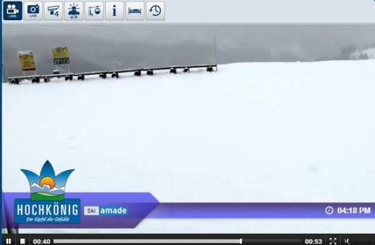 Live Dienten Ski Resort Skiing and Snowboarding Streaming Weather Webcam, Austria