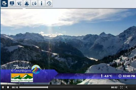 Berchtesgaden Ski Resort Live Streaming Skiing and Snowboarding Weather Cam, Germany
