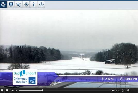 Bad Endorf Live Streaming Skiing and Snowboarding Ski Resort Weather Webcam, Germany