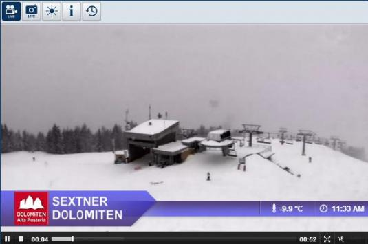 Live Streaming Sesto Dolomites Skiing and Snowboarding Weather Webcam, Italy