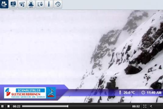 Val Senales Live Streaming Skiing and Snowboarding Weather Webcam, Italy