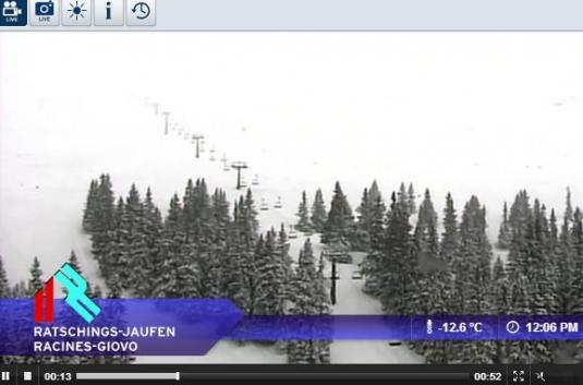 Ratschings Ski Resort Live Streaming Skiing and Snowboarding Weather Cam, Italy