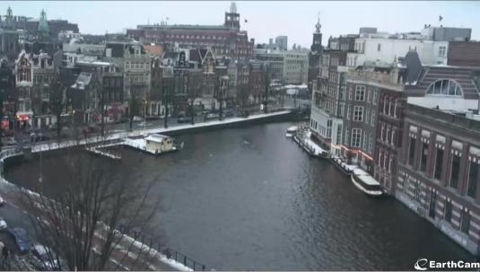 Amstel Canal Live Streaming Amsterdam Webcam Netherlands