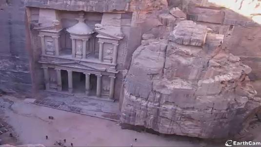 Petra Live Streaming historical and archaeological city webcam Ma\'an Jordan