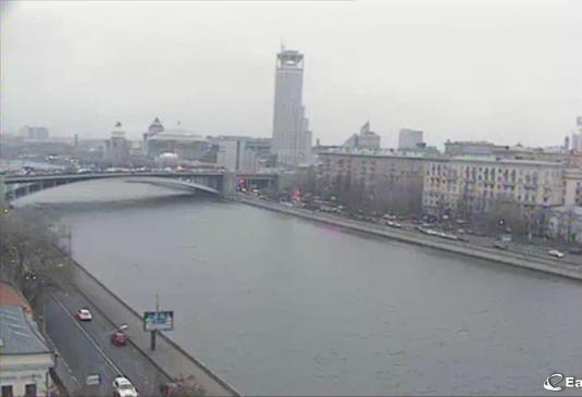 Paveletskaya Tower Live HD Streaming Moscow Weather Cam Russia