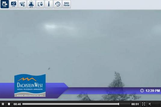 Dachstein West: Zwieselalm Bergstation live Streaming Skiing and Snowboarding Weather Webcam, Austria
