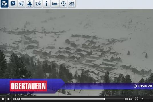 Obertauern Ski Resort Live Streaming Skiing and Snowboarding Weather Webcam, Austria