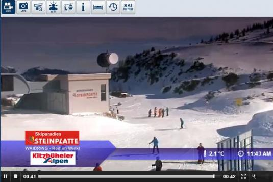 Kammerkor Ski Resort Skiing and Snowboarding Weather Webcam, Austria