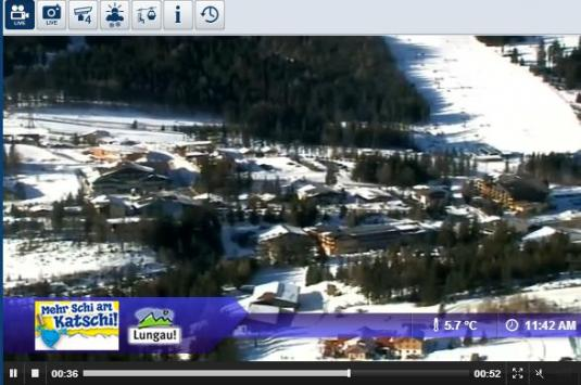 Live Streaming Katschberg Ski Resort Weather Webcam, Austria
