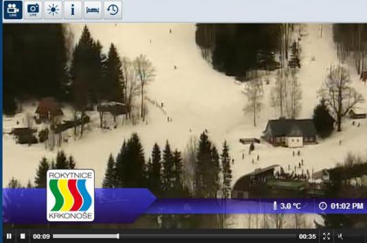 Rokytnice nad Jizerou Ski Resort Live Streaming Skiing and Snowboarding Weather Cam, Czech Republic