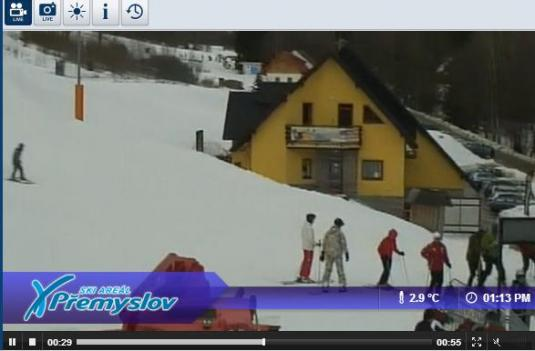 Premyslov Ski Resort Live Streaming Skiing and Snowboarding Weather Webcam, Czech Republic