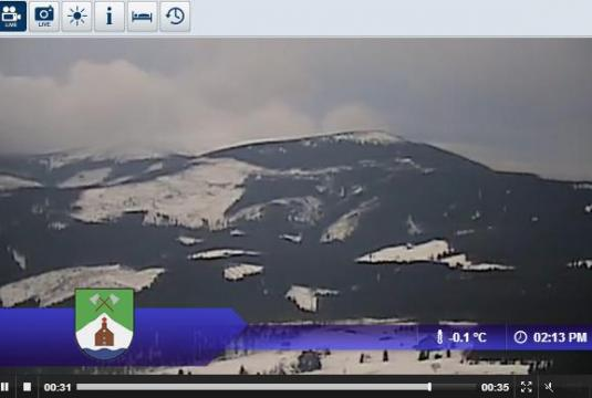 Live Streaming Mala Upa Ski Resort Skiing and Snowboarding Weather Cam, Czech Republic