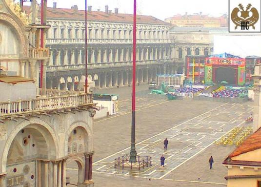 Piazza San Marco Live Webcam Venice Italy