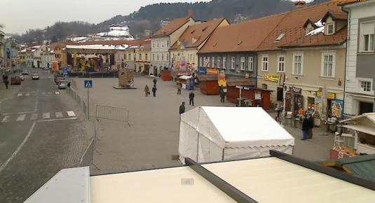 Samobor City Square Streaming Weather Webcam Croatia