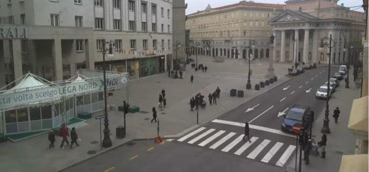 Trieste City Square Live Streaming Weather Webcam Trieste Italy