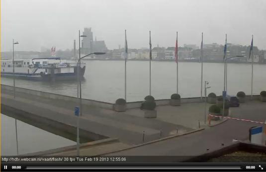 Live Streaming Zwijndrecht Harbour Weather HD Webcam, Holland