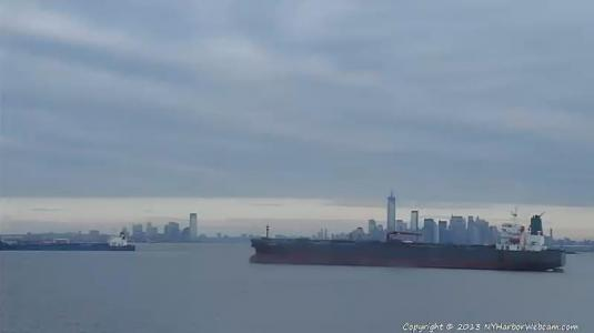 New York Harbor Weather Streaming Webcam Hudson River New York
