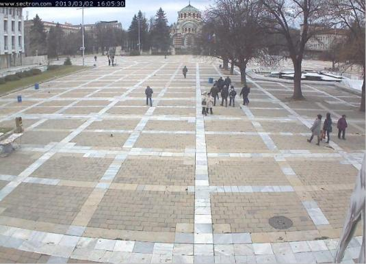 Pleven City Square Weather Cam Bulgaria