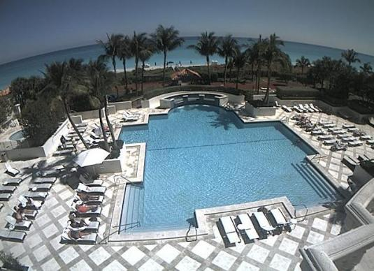 Blue Diamend Condos Swimming Pool Webcam Miami Beach Florida