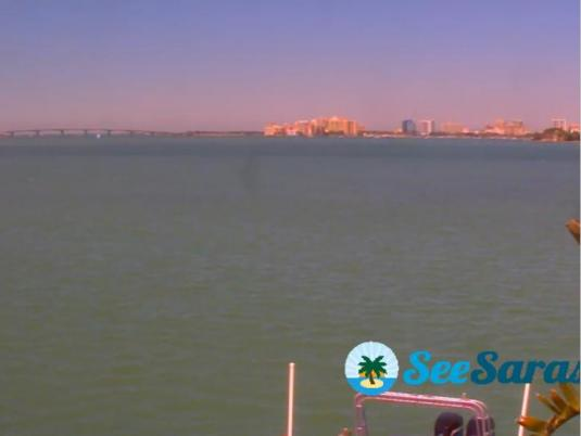Sarasota Live Bayfront weather webcam Florida
