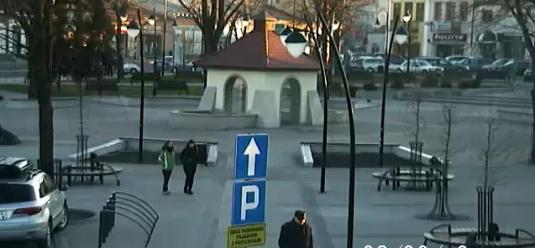 Kolbuszowa Town Centre Live Streaming People Watching Webcam Poland