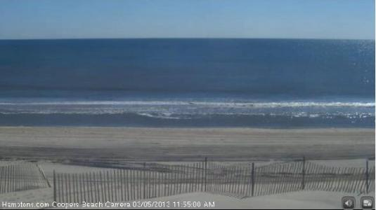 Coopers Beach Live Hamptons Weather Webcam Southampton New York