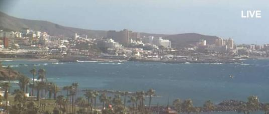 Costa Adeje Live Holiday Resort Weather Cam Tenerife Canary Islands