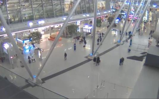 Dusseldorf International Airport Terminal Streaming Webcam Dusseldorf