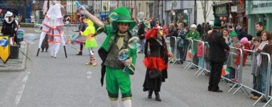 Live Mullingar St Patricks Day Parade Streaming Webcast County Westmeath Ireland