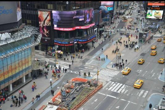 Times Square Big Apple Gigapixel Webcam New York City New York