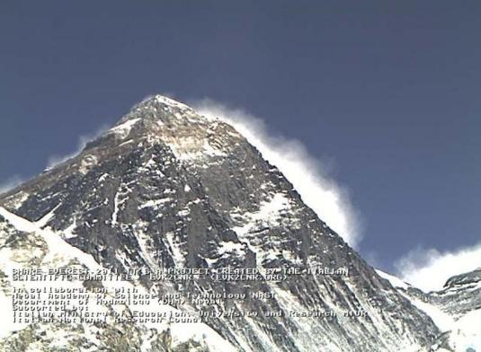 Mount Everest Live Weather Webcam Himalayas Nepal