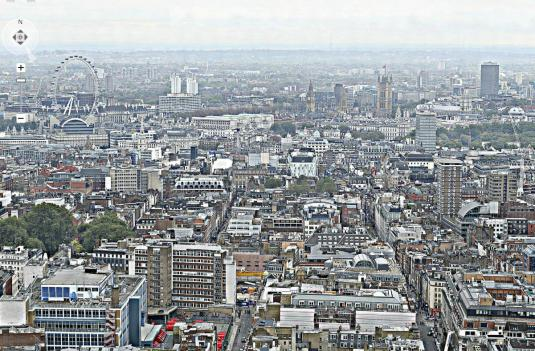 Bt Tower London 320 Gigapixel Panoramic Cam View London City