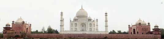 Taj Mahal Live Gigapixel Panoramic Virtual Camera Tour Agra India