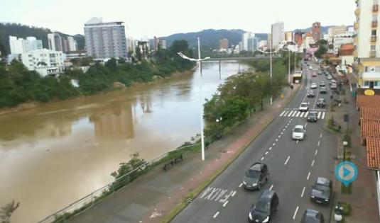 Blumenau City Live Streaming HD Traffic Weather cam Southern Brazil