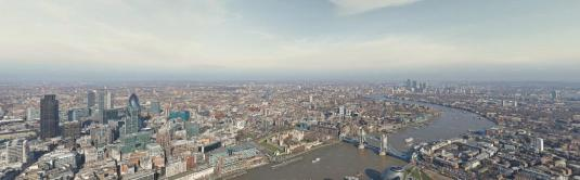 The Shard Skyscaper Live London 360 Degree Panoramic Gigapixel Cam Virtual London Tour England