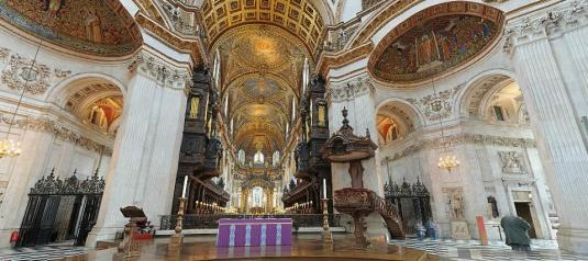 St Pauls Cathedral London Live Gigapixel Panoramic Virtual Camera Tour London