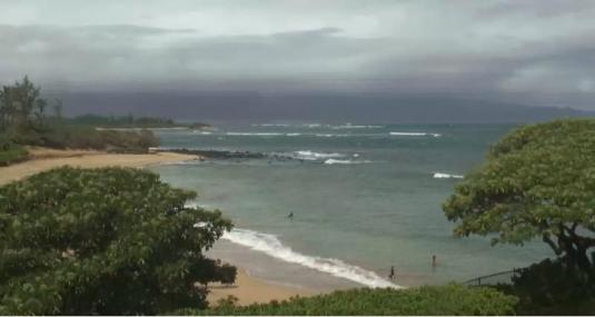 Spreckelsville beach surf weather cam north shore island of maui