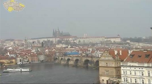 City of Prague Live Streaming Panorama Weather Cam Czech Reublic