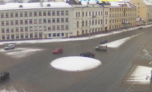 Pskov City Centre Traffic Weather Cam Pskov Oblast  Russia,