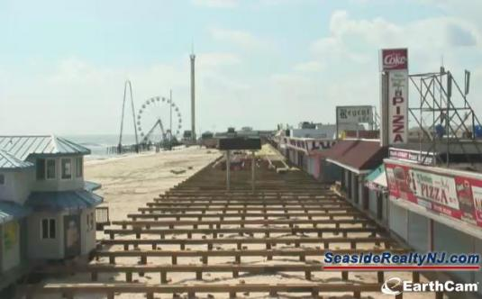 Seaside Heights Live Streaming Boardwalk weather webcam New Jersey