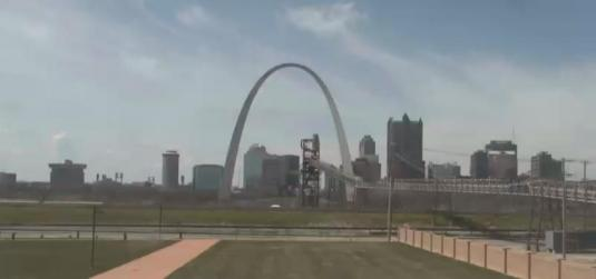 St. Louis Gateway Arch Live Webcam Jefferson National Expansion Memorial Missouri