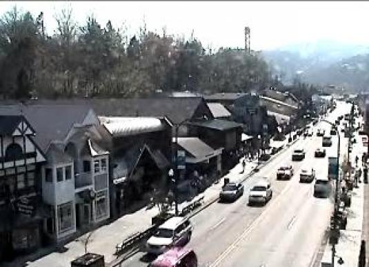 Gatlinburg Downtown Live Traffic Weather Webcam Tennessee