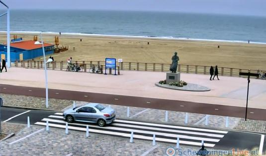 Scheveningen Seaside Resort Esplanade Beach Weather Webcam Netherands